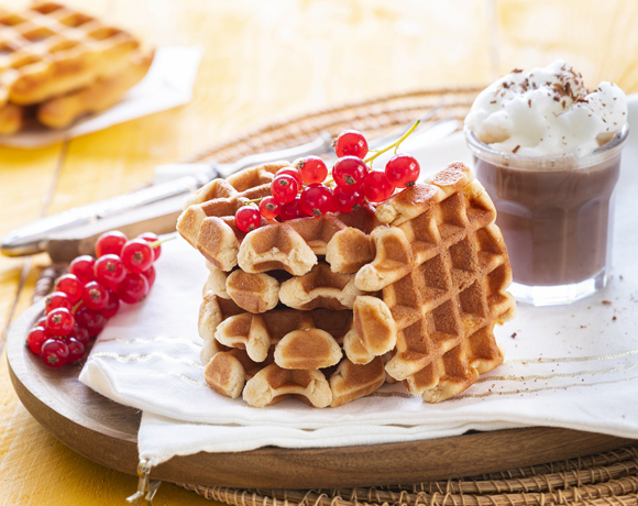 Heavenly Cake soft waffles